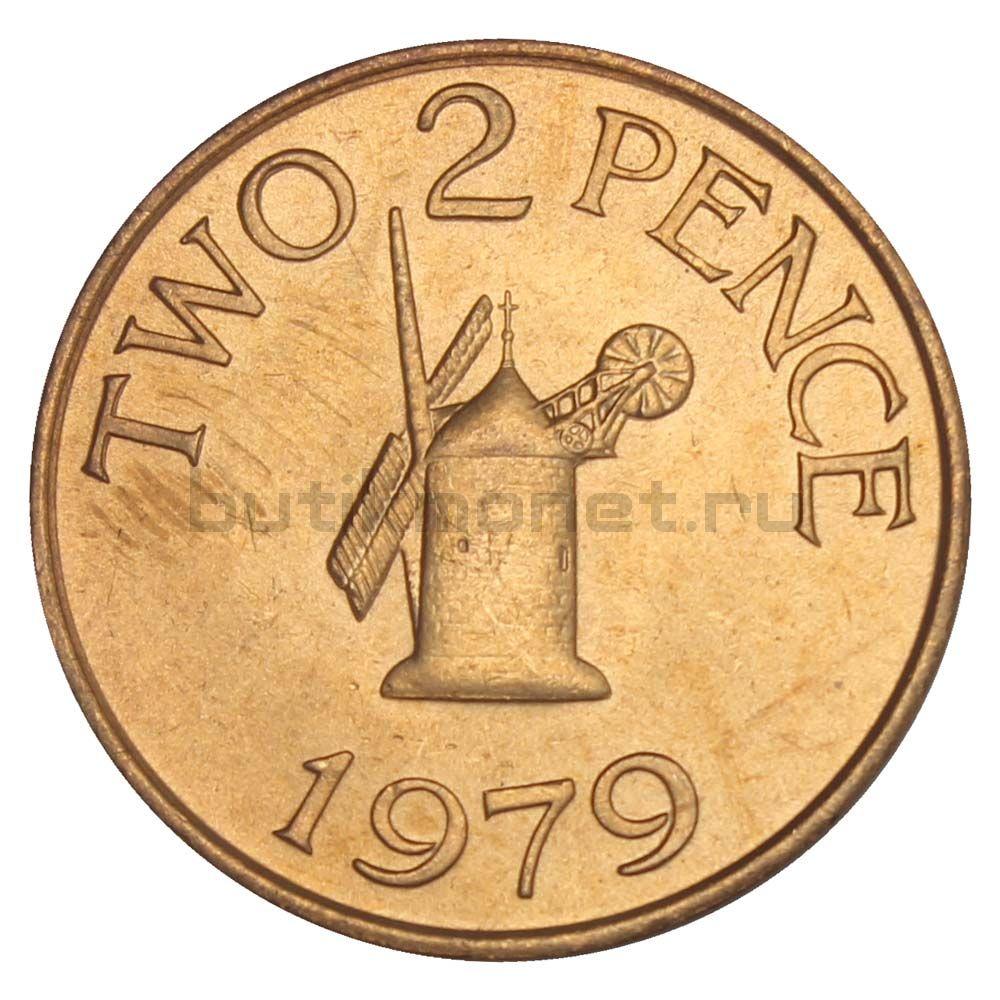 2 пенса 1979 Гернси