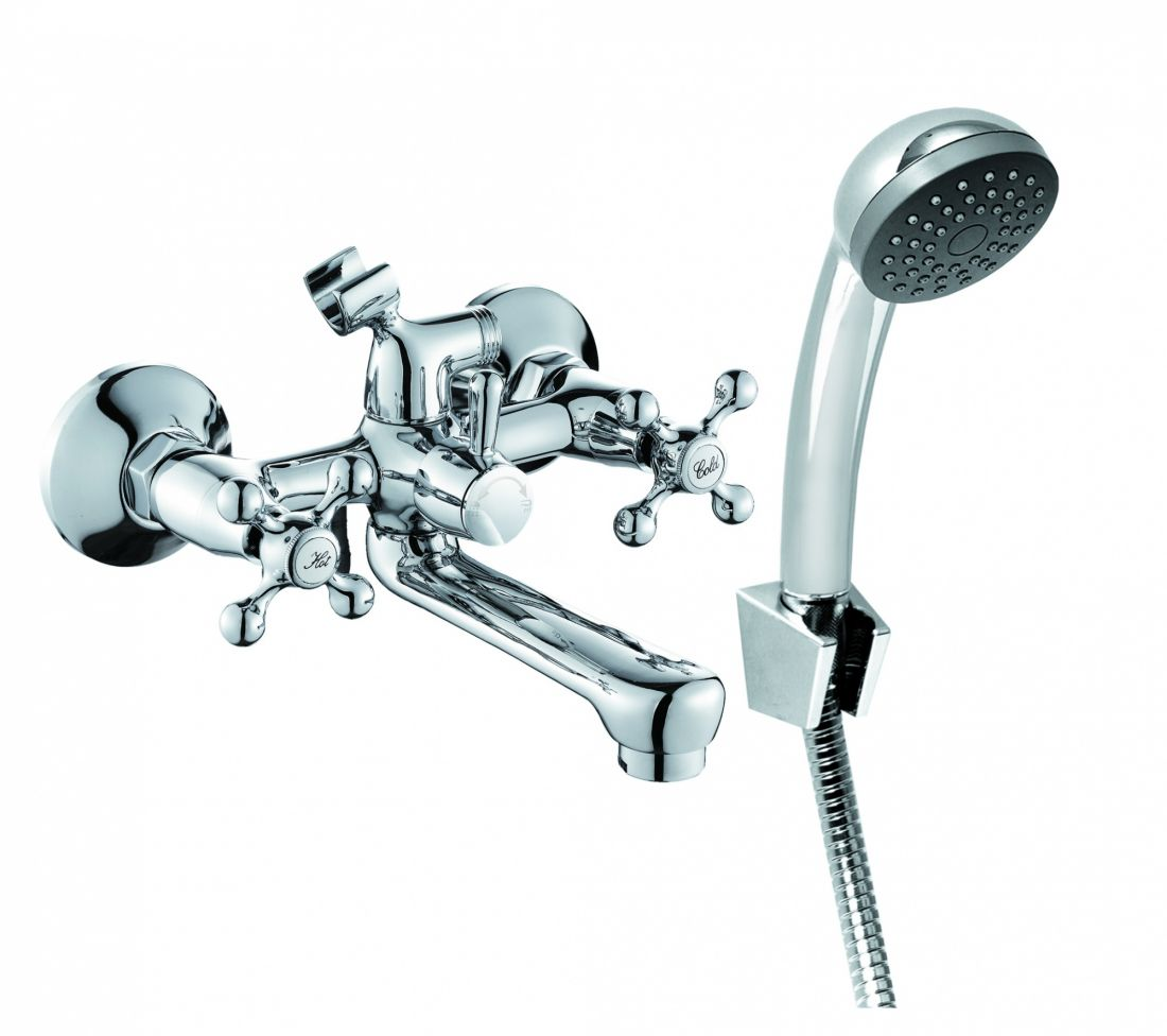 Смеситель для ванны с аксессуарами ELC2510