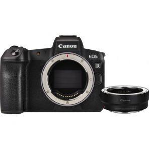 Canon EOS R Body + EF-EOS R адаптер черный адаптер EF‑EOS R
