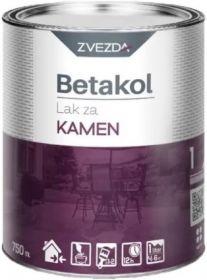 Лак для Камня Zvezda Betakol 0.75л Бесцветный, Глянцевый для Внутренних и Наружных Работ