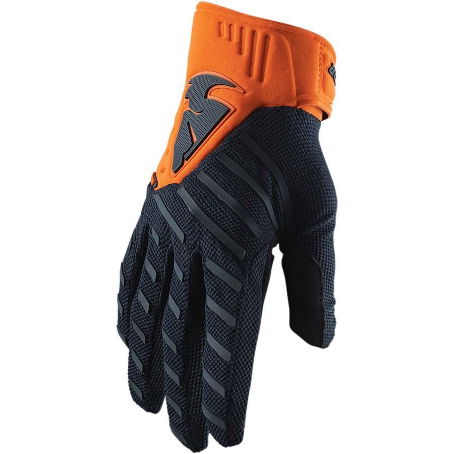 Thor Rebound Midnight/Orange перчатки для мотокросса и эндуро