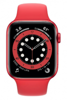 Умные часы Apple Watch Series 6 GPS 44мм Aluminum Case with Sport Band, (PRODUCT)RED