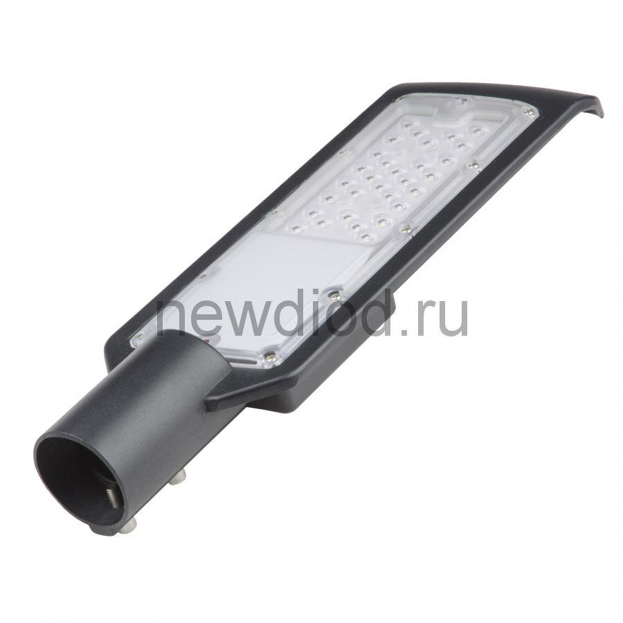 Светильник-прожектор сд ULV-Q610 50W/6500К IP65 BLACK уличный консольный 6500К угол 120 гр Volpe