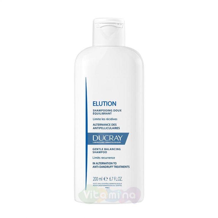 Ducray Elution Мягкий балансирующий шампунь