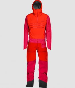 Norrona Lofoten GTX Pro One Piece AREDNALIN RED 2019