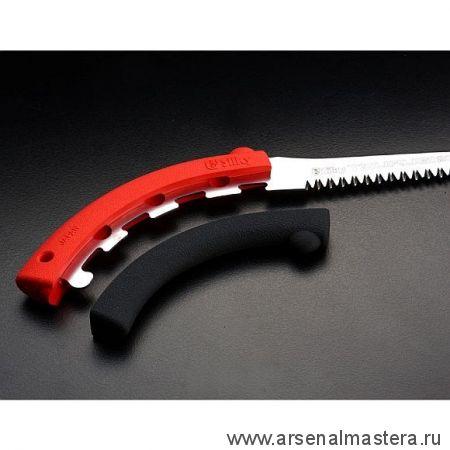 Легкая японская пила с узким лезвием Silky Tsurugi Curve 270 мм 7.5 зубьев / 30 мм в чехле М00014390