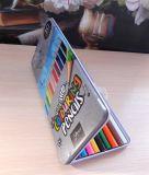 Цветные карандаши artista в жестяной коробке 10 шт