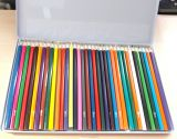 Цветные карандаши artista в жестяной коробке 36 шт
