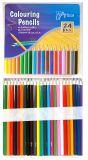 Цветные карандаши artista в жестяной коробке 24 шт