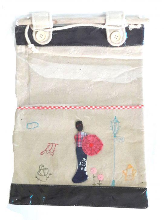 КАРМАН Детский 1 карман на палочке ГЕЙША
