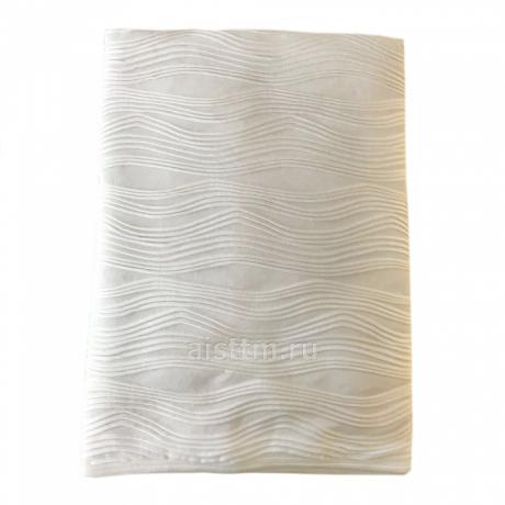 Одеяло-плед кружевной ВОЛНЫ, без наполнителя