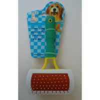 """Двусторонняя прямоугольная расчёска для собак по акции """"Товар в подарок"""""""
