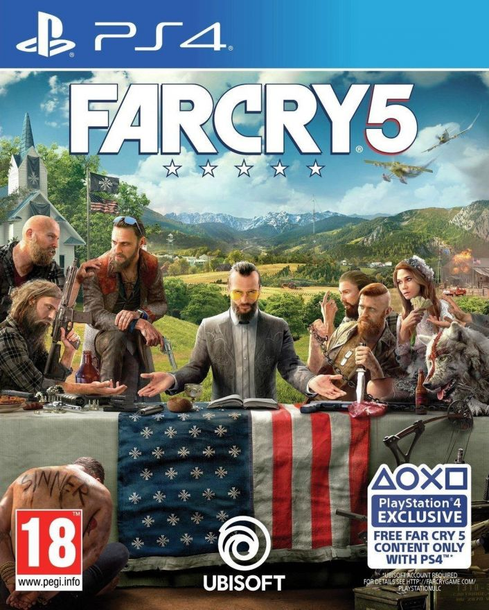 Игра Far Cry 5 (PS4) (Англ.Версия)