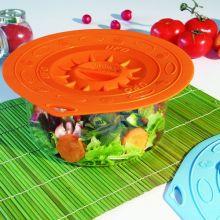 Вакуумная крышка UFO Silikomart 25 см оранжевая 7225072