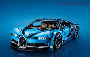 Конструктор LELE Technic Bugatti Chiron 38036 (Аналог LEGO Technic 42083) 3636 дет