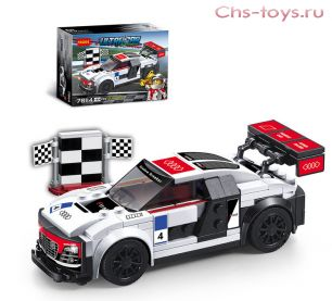 Конструктор Decool ULTRACAR Audi R8 LMS ultra 78114 (Аналог LEGO Speed Champions 75873) 183 дет