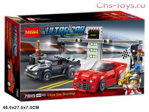 Конструктор Decool ULTRACAR Chevrolet Camaro Drag Race 78115 (Аналог LEGO Speed Champions 75874) 454 дет