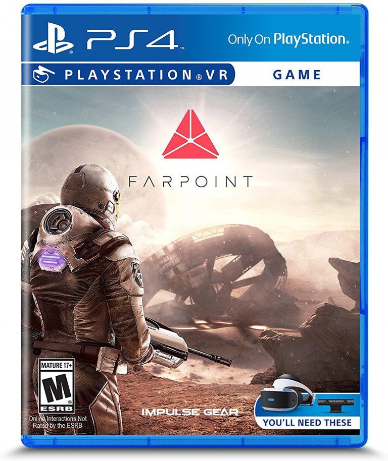 Farpoint VR  ps4 ( русская версия )