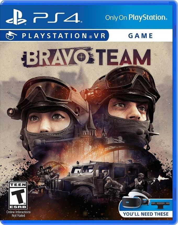 Bravo Team (только для PS VR) ps4