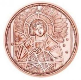 Архангел Уриил — ангел света 10 евро Австрия 2018 на заказ