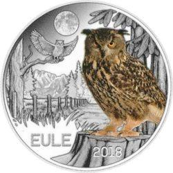 Филин 3 евро Австрия 2018 на заказ