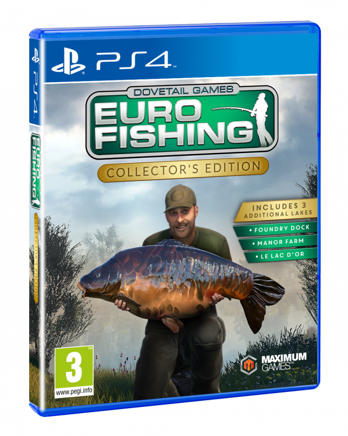 Игра Euro Fishing Collector's Edition (PS4)