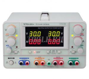 ТЕТРОН-5003-4 Линейный источник питания 4 канала 50 вольт 3 ампера