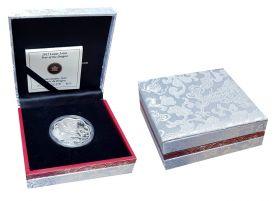 Канада 15 долларов 2012 Год дракона Лотос Лунный календарь СЕРЕБРО