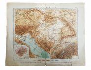Старинная карта АВСТРО-ВЕНГРИИ, (Издание и собственность А.Ф. Маркса в С.П.б.)