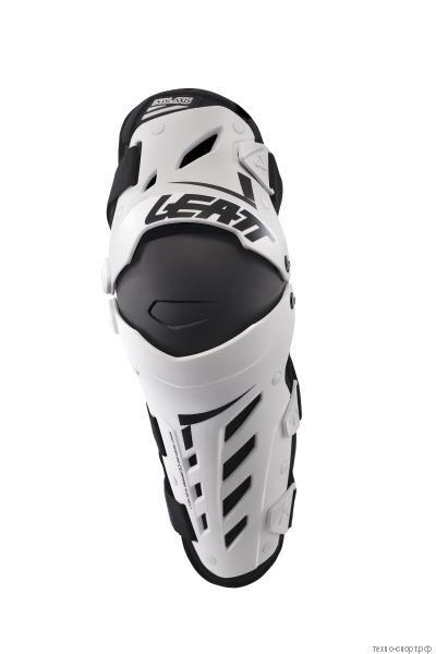 Наколенники Leatt Dual Axis Knee & Shin Guard White/Black