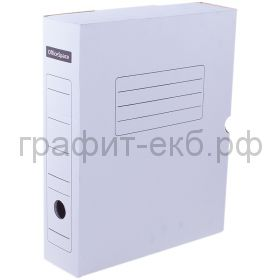Короб архивный 7,5см на картон белый 320x250x75мм OfficeSpace 158553