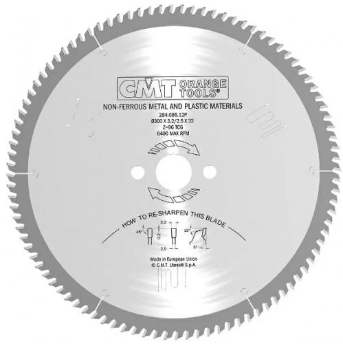 Диск пильный 450x3.8/3.2x30 Z108 TCG 5°POS CMT 284.108.18M
