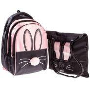 Рюкзак Hatber Street Bunny 41*28*21см 3отд. потайной карм. + сумка шоппер
