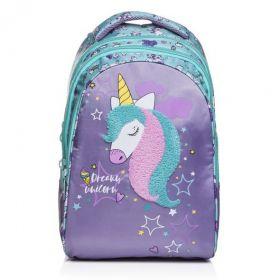 Рюкзак Hatber STREET -Dream unicorn- 30х42х20 см 3 отделения