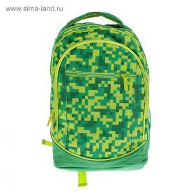 Рюкзак Hatber Street 42*30*20 см Камуфляж, зелёный