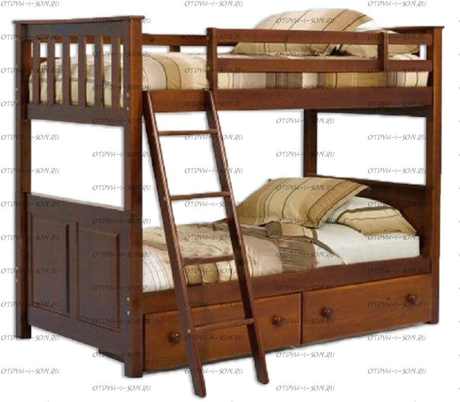 Кровать двухъярусная Кадет №20А
