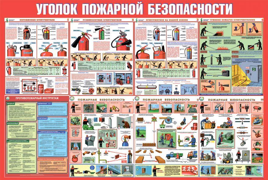 Информационный стенд Правила пожарной безопасности_5