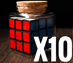 10 PCS - REFILLS FOR CUBE IN BOTTLE (только 10 банк с кубиком)