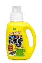 Mitsuei Гель для стирки рабочей одежды (с мощными ферментами, дезодорирующий), 800мл