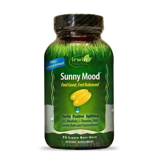 Irwin Naturals Солнечное Настроение Sunny Mood, 75 капс
