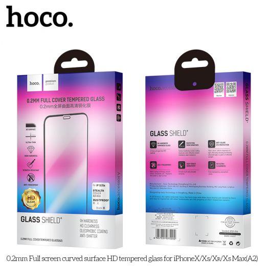Защитное стекло HOCO 0.2mm для iPhoneXR(A2), черный