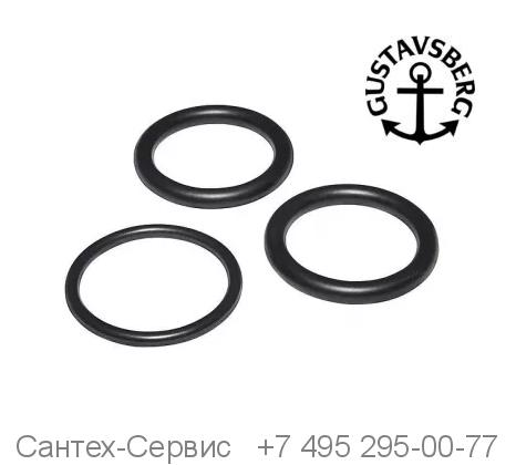 GB41633952 01 Комплект уплотнителей на излив для смесителя Gustavsberg для ванны и душа