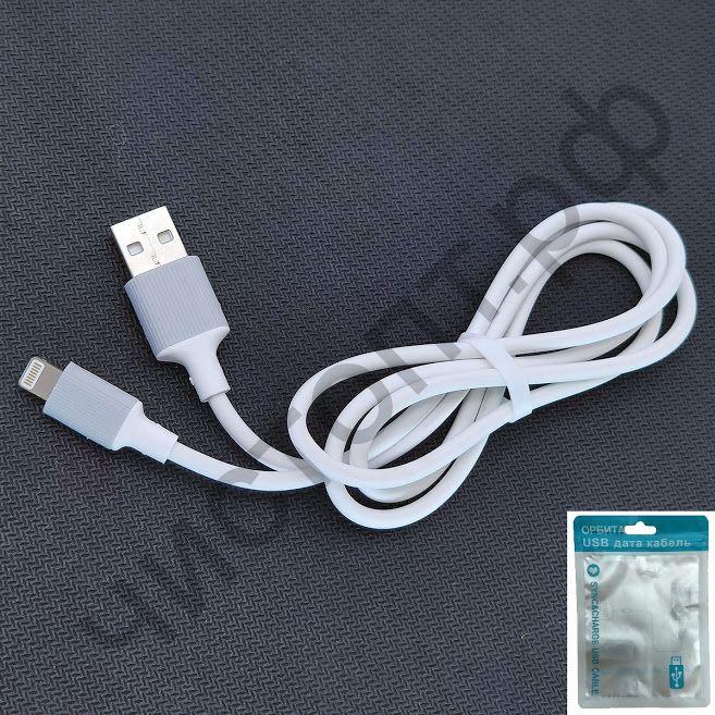 Кабель USB - Apple 8 pin OT-SMI13  2A пакет цв.