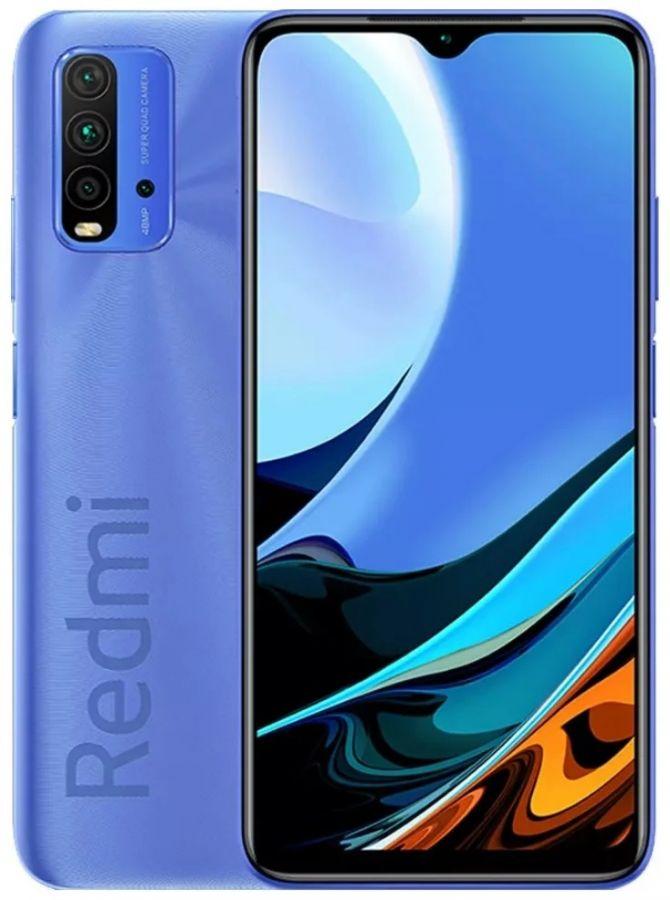 Смартфон Xiaomi Redmi 9T 4/128GB NFC Синие сумерки (M2010J19SY)
