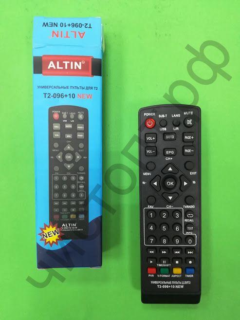 Пульт универс. к циф. ресиверам DVB-T2 T2-096+10 (DVB-T2+TV)