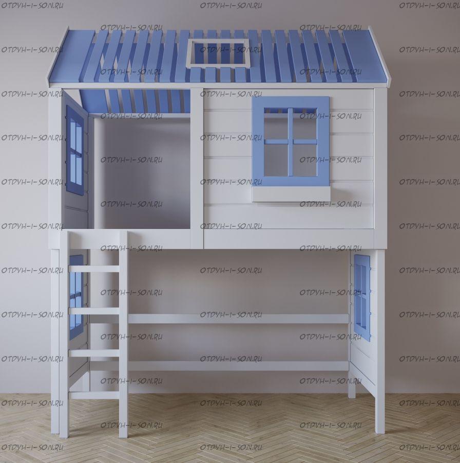 Кровать-чердак Домик Felicia №27А