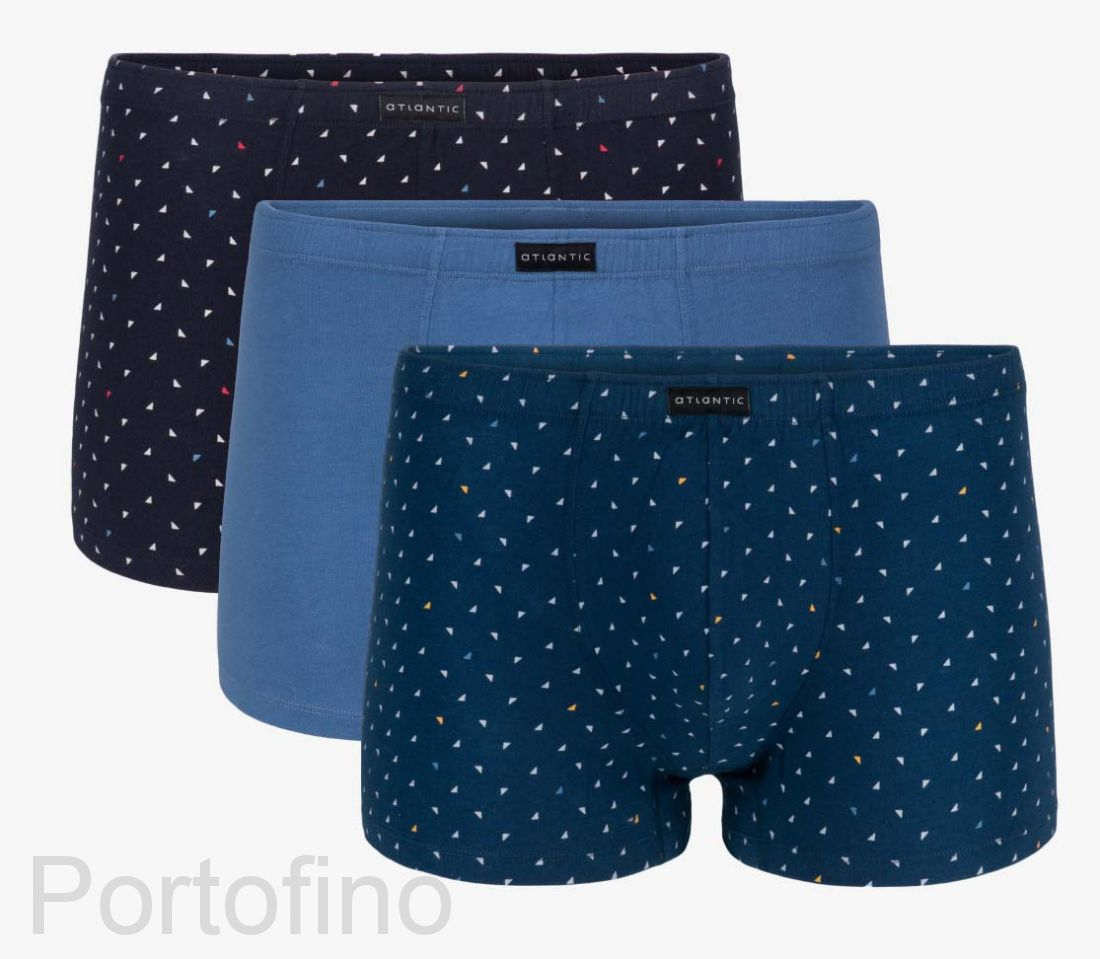 3MH-008 Трусы мужские шорты Small triangle - набор 3 штуки