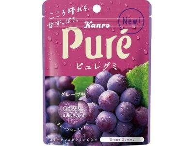 Мармелад Kanro Pure  со вкусом красного винограда