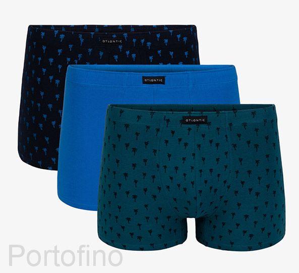 3MH-006 Трусы мужские шорты Palms - набор 3 штуки