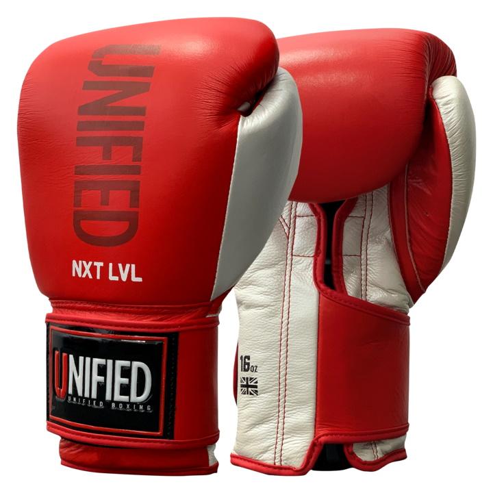 Боксерские перчатки Unified NXT LVL Pro - Red